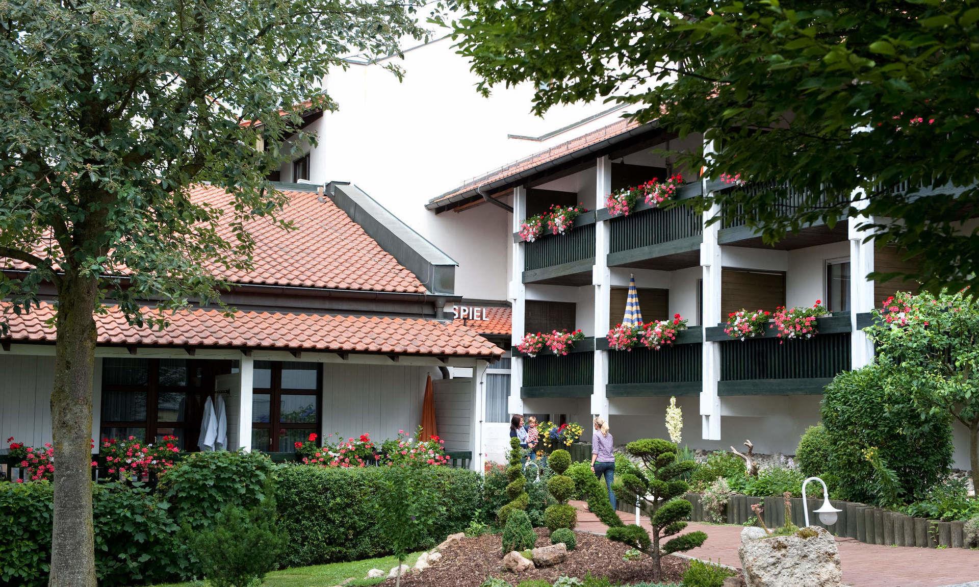 Badkamer Douchen In Bad ~ Gesund & Fit im Sommer Hotel garni Glockenspiel Bad Griesbach Urlaub